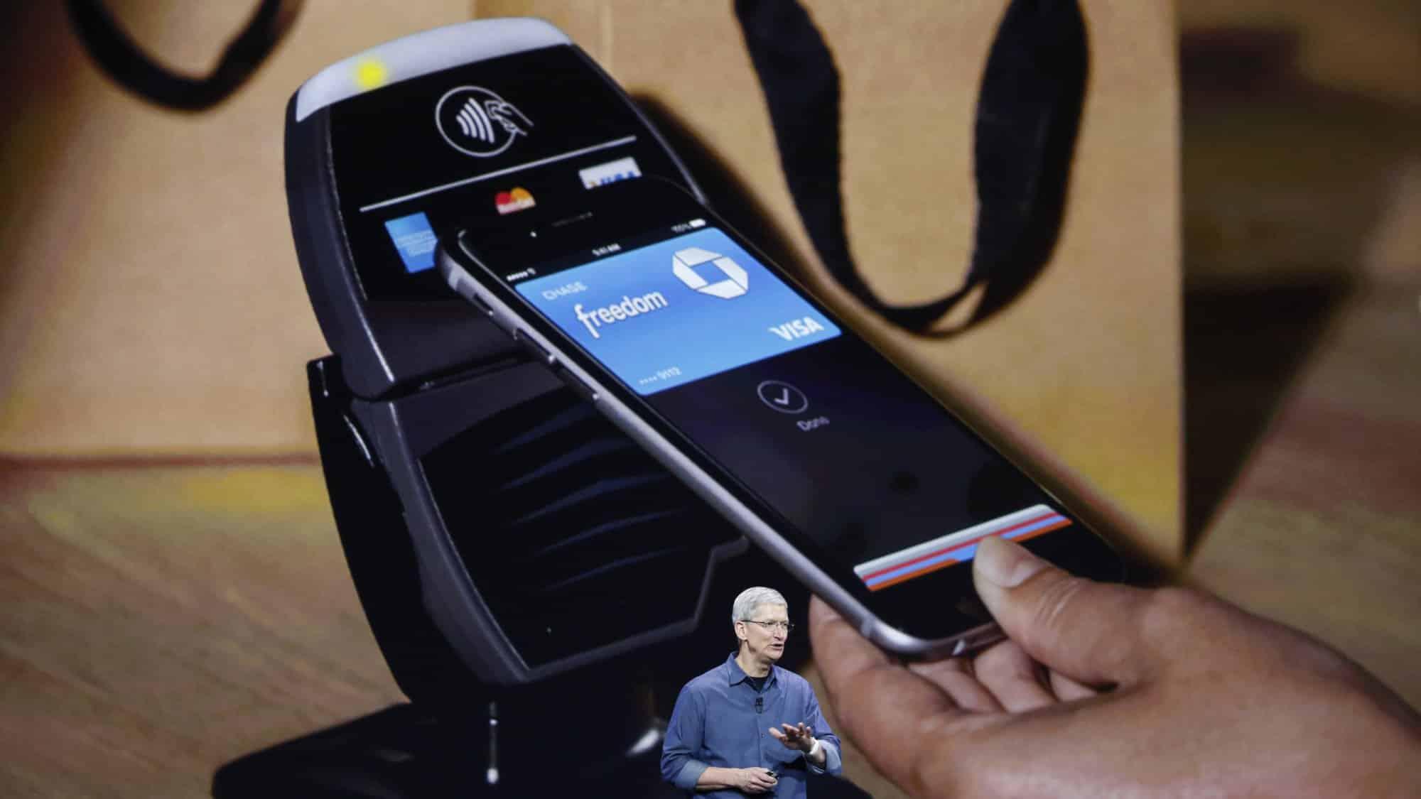 Apple Pay hará su debut el 18 de octubre, pero sólo en Estados Unidos.