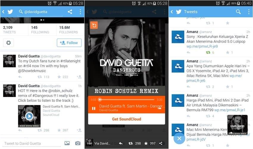Audio Card es el nombre de la función creada por la alianza entre SoundCloud y Twitter, donde se podrá reproducir audios desde esta última plataforma.