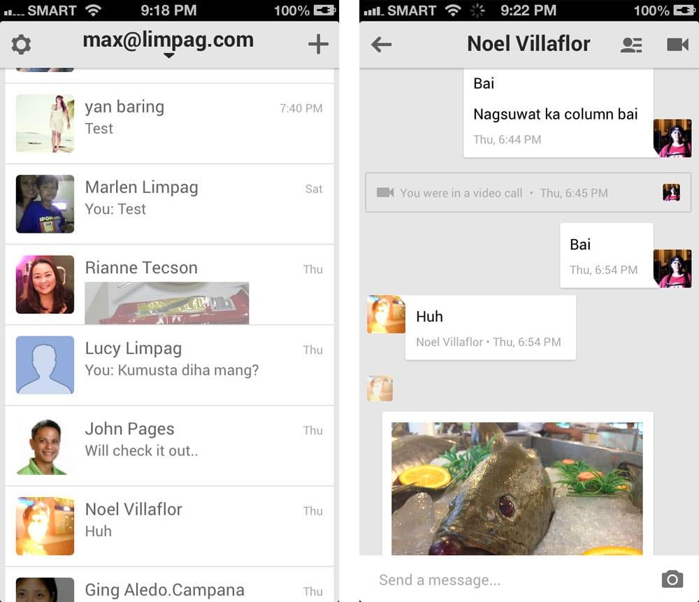A diferencia de Hangouts la compañía quiere un servicio de mensajería móvil sin necesidad de tener cuenta en Google.