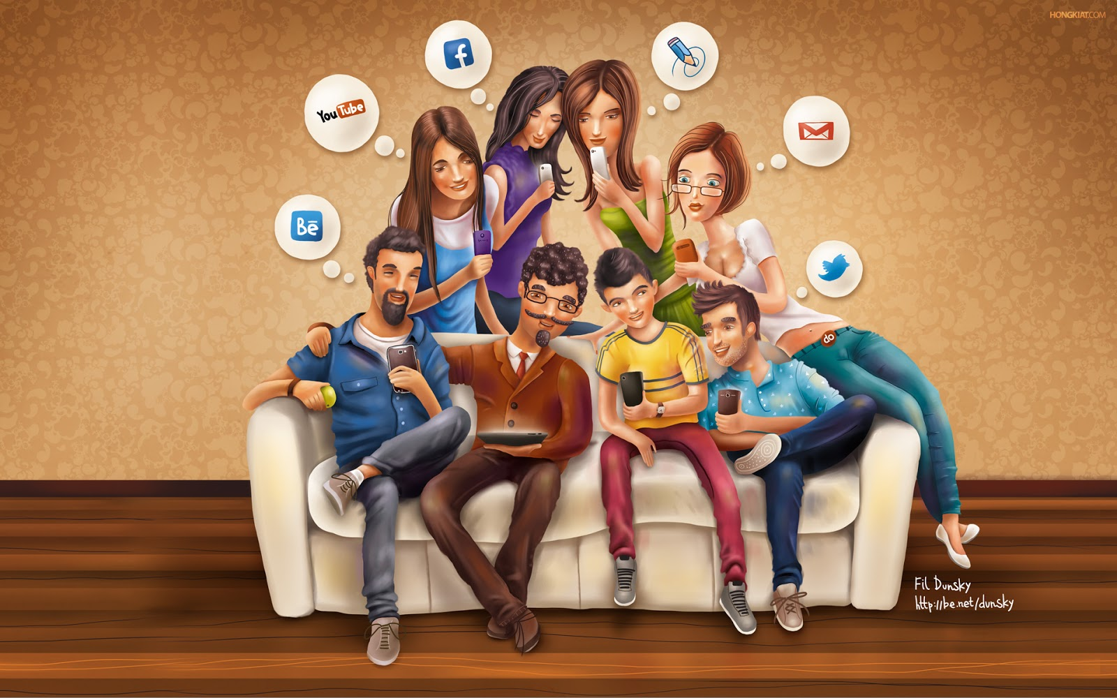 El 89,6% de los encuestados piensa que debería usar menos las redes sociales.