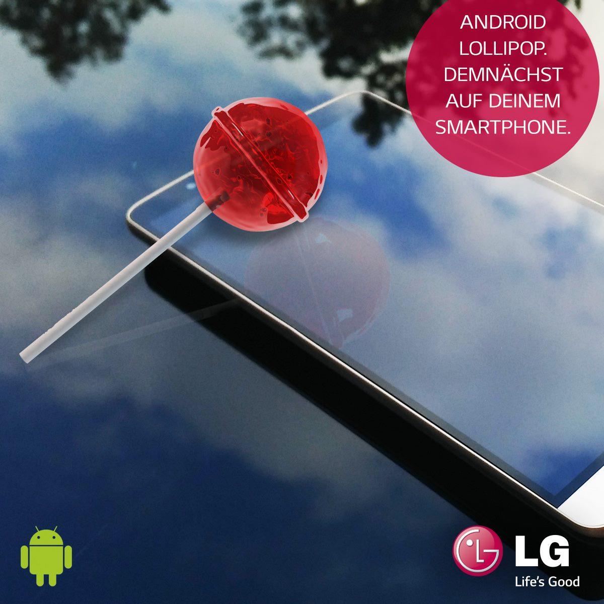 Así anunció LG la llegada del LG G3 en Polonia.