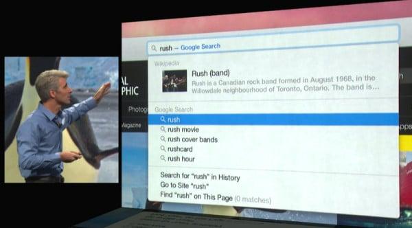 Imágenes como esta podríamos dejar de ver en Apple. Buscando en Safari con Google como predeterminado.