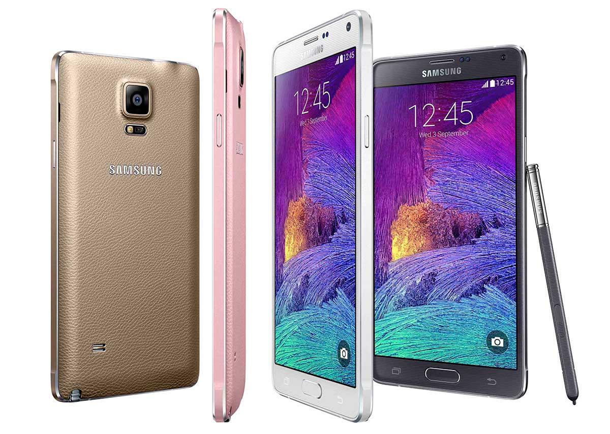 Samsung GALAXY Note 4.