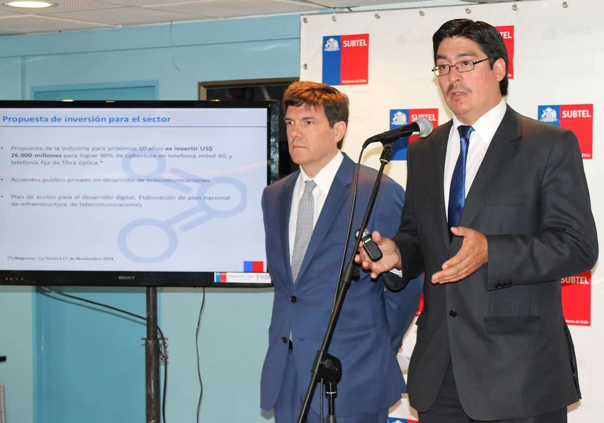 Autoridades estuvieron presente en el inicio del concurso para la tercera etapa de Wi-Fi ChileGob.