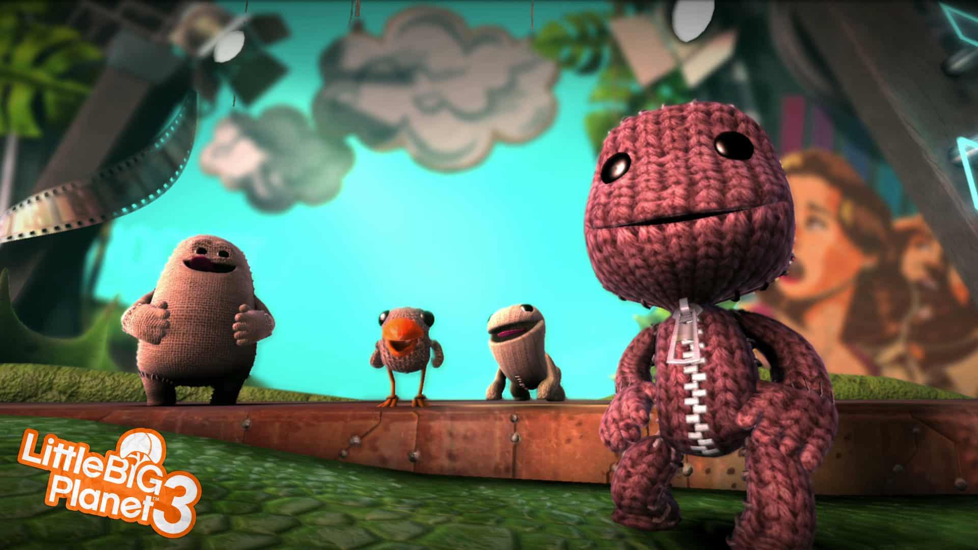 LittleBigPlanet 3 está disponible sólo para PS3 y PS4.