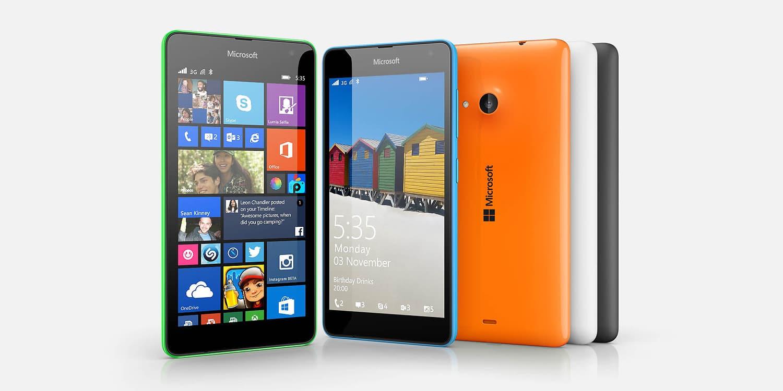 $135 dólares costará el Microsoft Lumia 535, aunque sin contar impuestos.