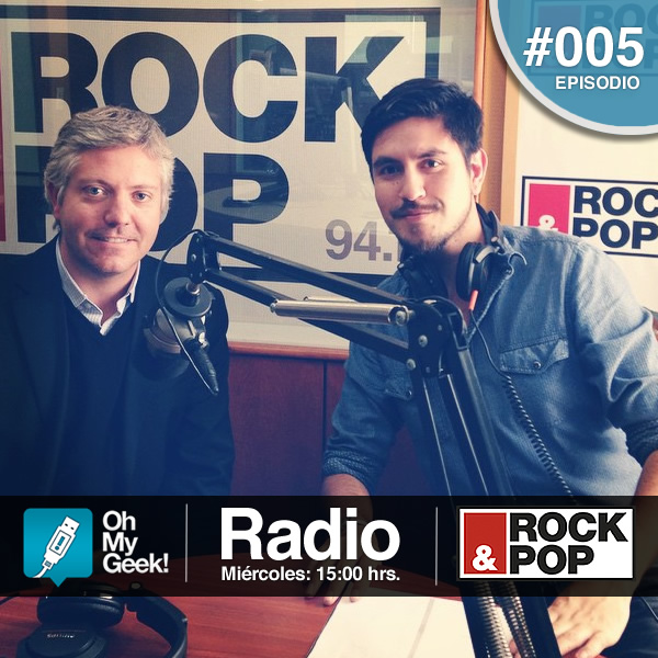 Sebastián Palacios fue el invitado para este episodio #005 de OhMyGeek! Radio.