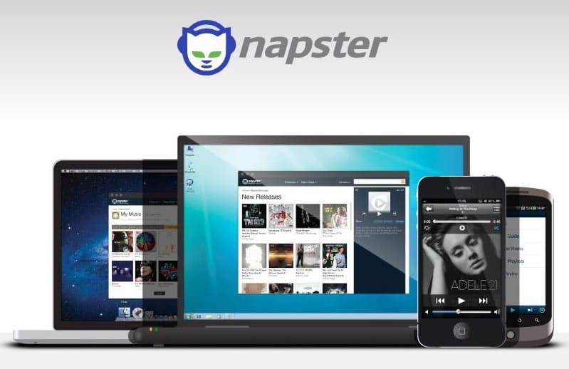 Napster es multiplaforma al igual que otros servicios como Spotify.
