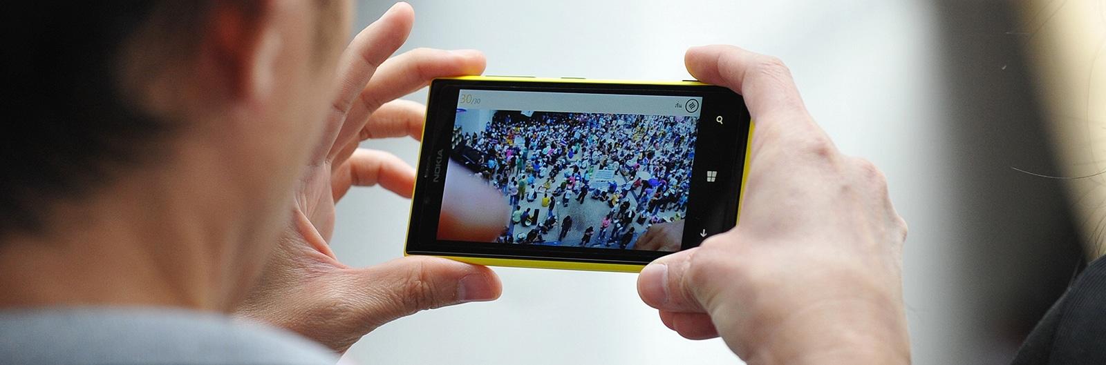 El tráfico de video móvil aumentará diez veces en la población mundial para 2020.