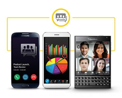 BBM Meetings está disponible para BlackBerry 10, Android, OS X y Windows.