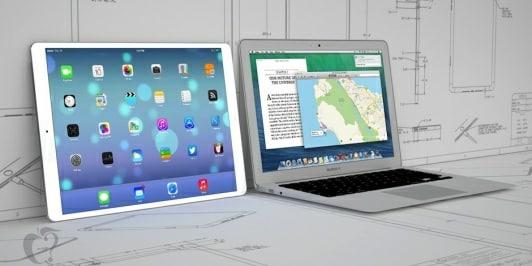 ¿El supuesto iPad Pro competiría con el MacBook Air?