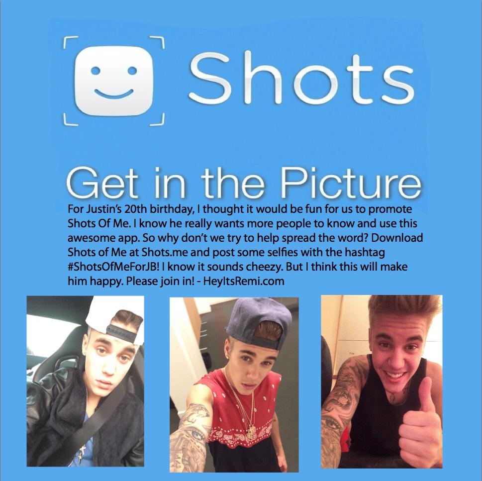 Justin Bieber: Twitter estaría pensando en comprar Shots debido a la gran popularidad que tiene en mujeres menores de 24 años.
