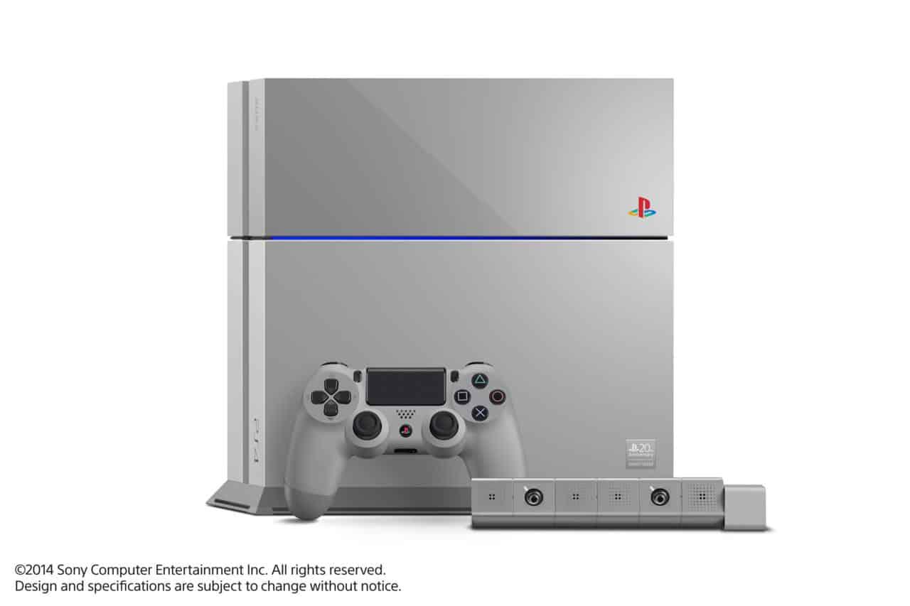 Sony lanzó una PS4 especial para celebrar los 20 años de PlayStation, lo que desató un fenómeno de reventas.
