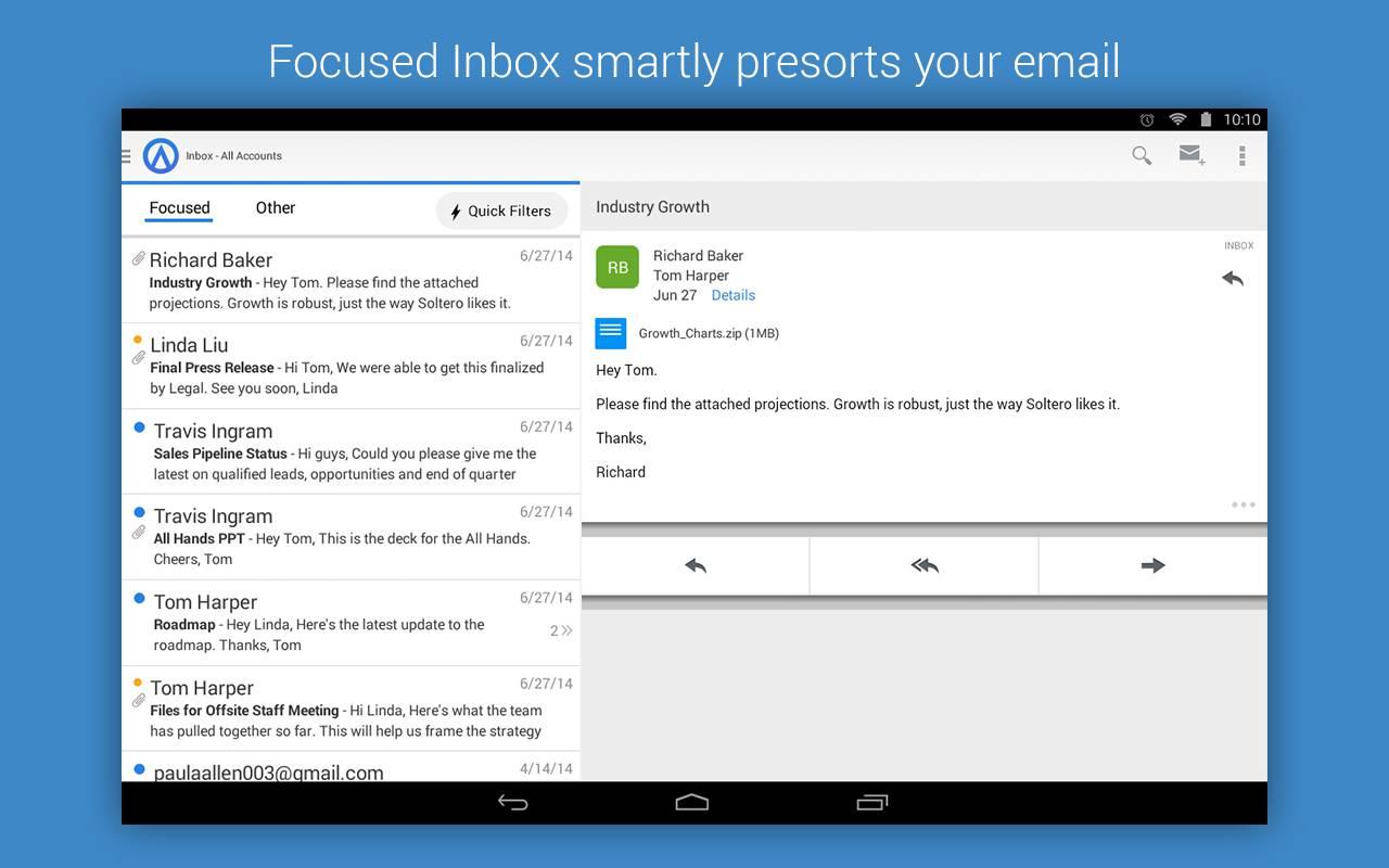 Accompli ayudará a los usuarios de Microsofta mejorar su experiencia al revisar su correo electrónico en el móvil.