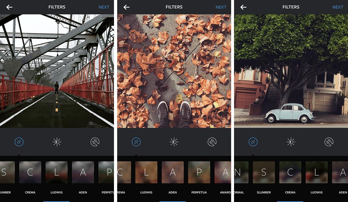 Ludwig, Aden y Crema, 3 de nuevos filtros en Instagram.