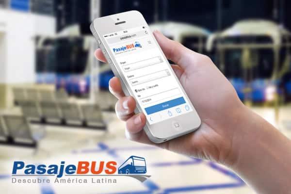 Pasaje Bus funciona desde la Web de escritorio hasta dispositivos móviles.