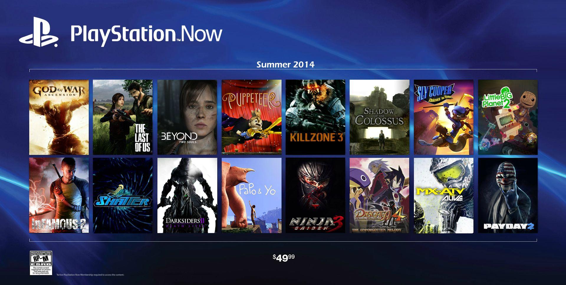 PlayStation Now saldrá de los dispositivos Sony y debutará en los televisores de Samsung a mediados de 2015.