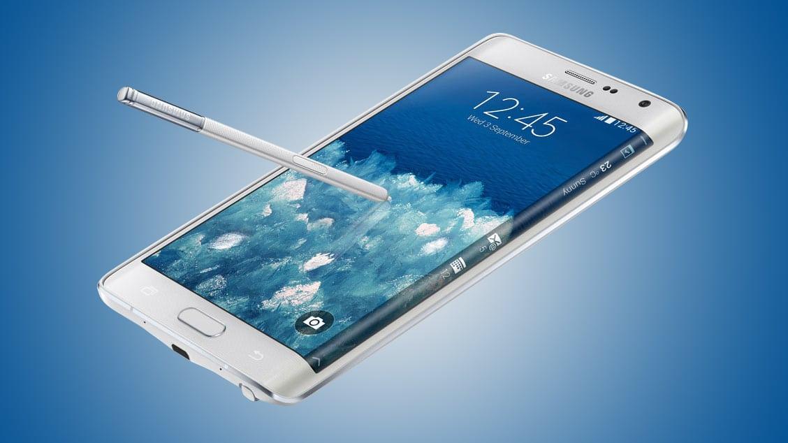 Galaxy Note Edge, un trabajo loable de Samsung al lado de su ícono Galaxy S5.
