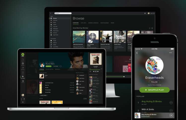 Apple quiere competir contra Spotify con el desarrollo de su propio servicio streaming.