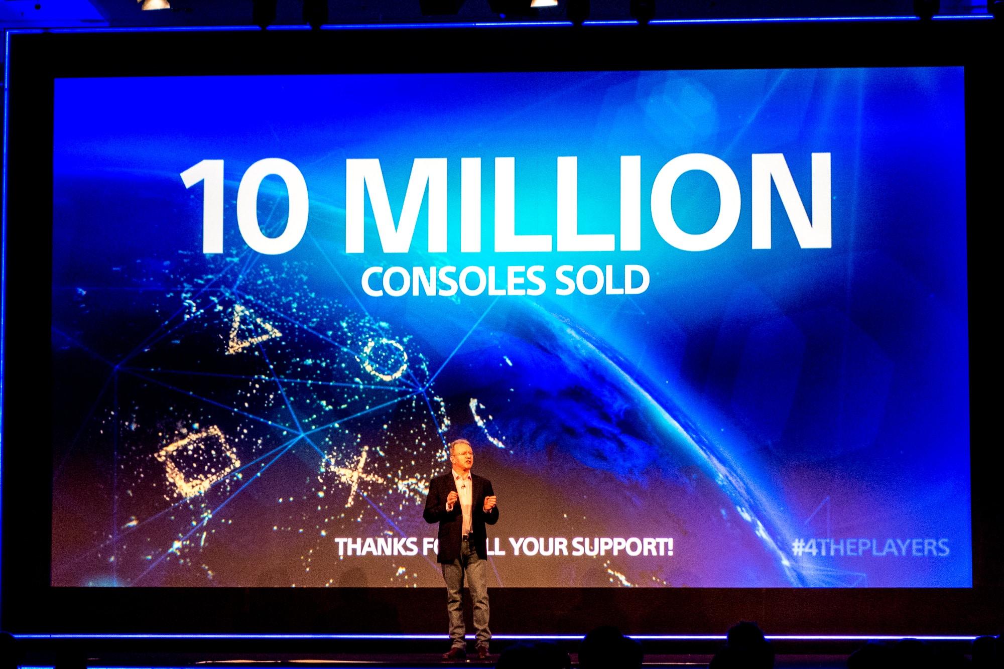 En lo que va de 2014, Sony vendió 10 millones de PlayStation 4, sin sumar las ventas del 2013.