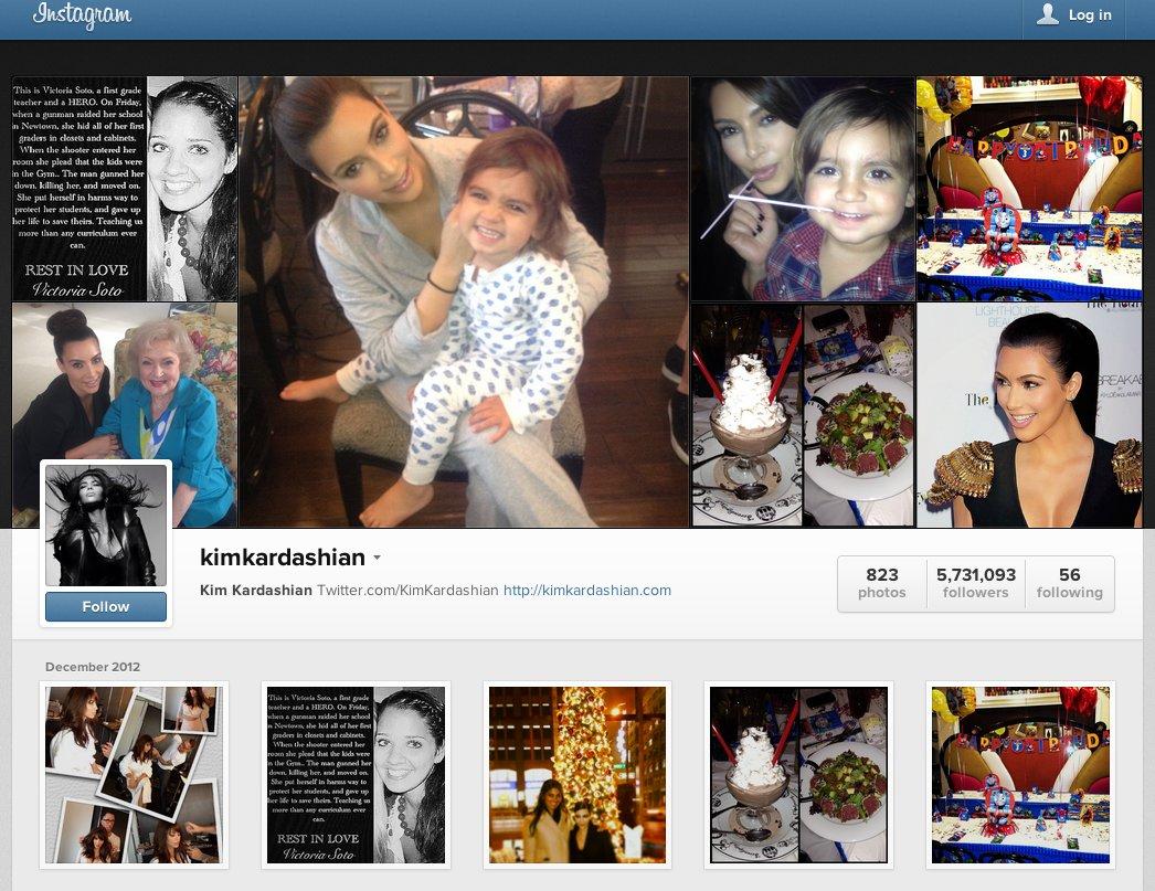 Celebridades como Kim Kardashian se molestaron por la reducción de sus followers, tras la decisión de Instagram de eliminar cuentas falsas.