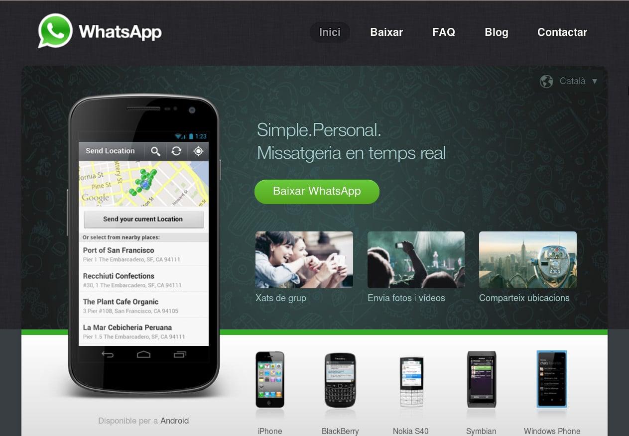 El servicio de mensajería WhatsApp estaría pensando en llevar su aplicación a formato Web.