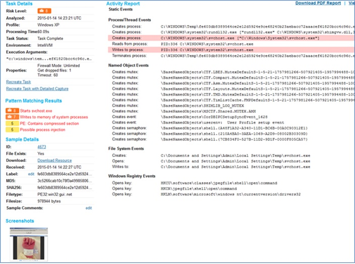 """El malware """"Je Suis Charlie"""" (DarkComet RAT) descarga una copia de sí mismo."""