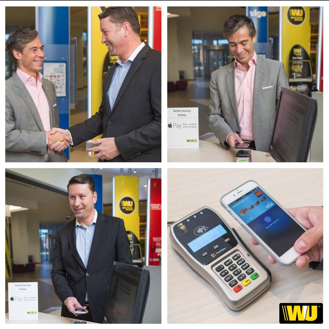 Western Union confirmó que aceptará Apple Pay en sus locales.