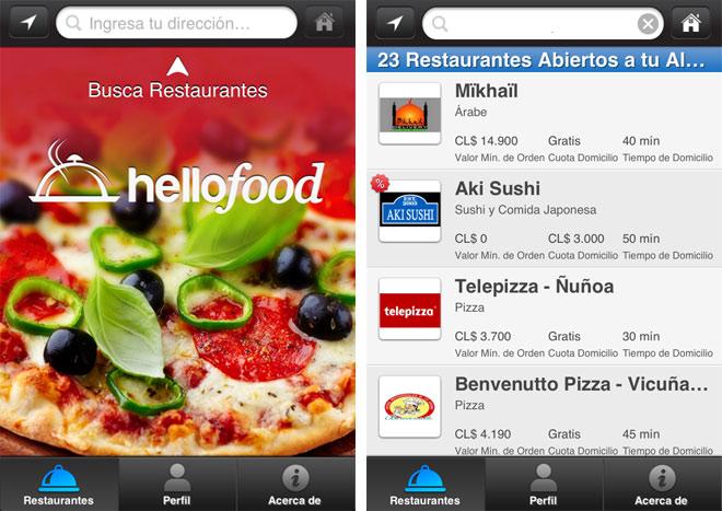 Apps: Hello Food.