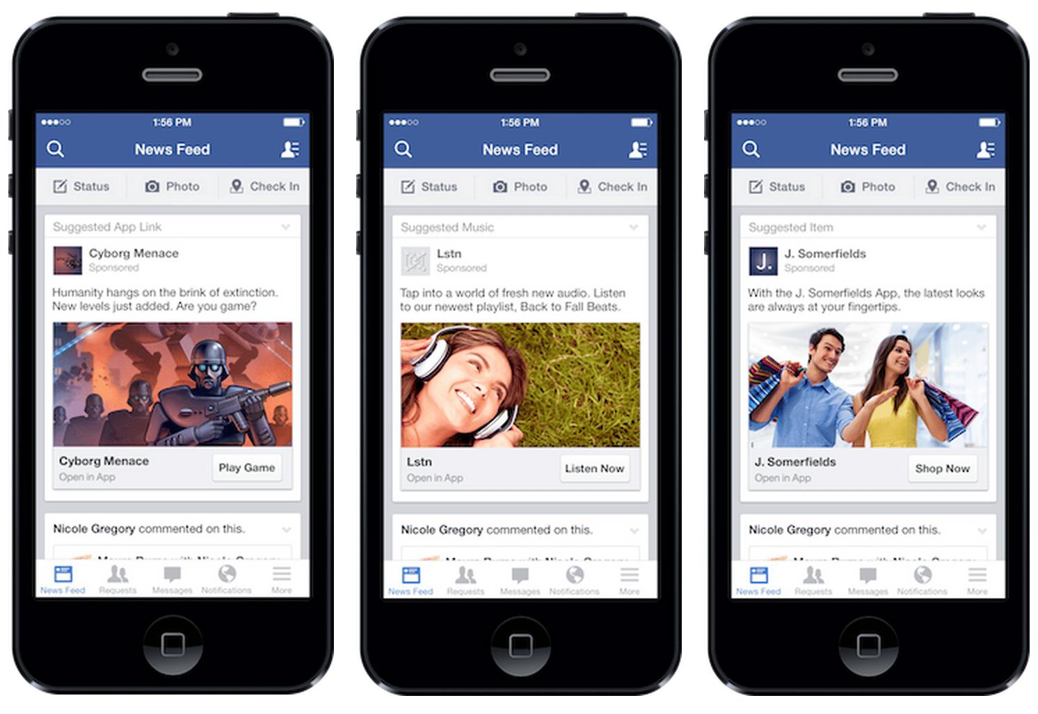 La publicidad móvil se convirtió en el principal ingreso para Facebook.