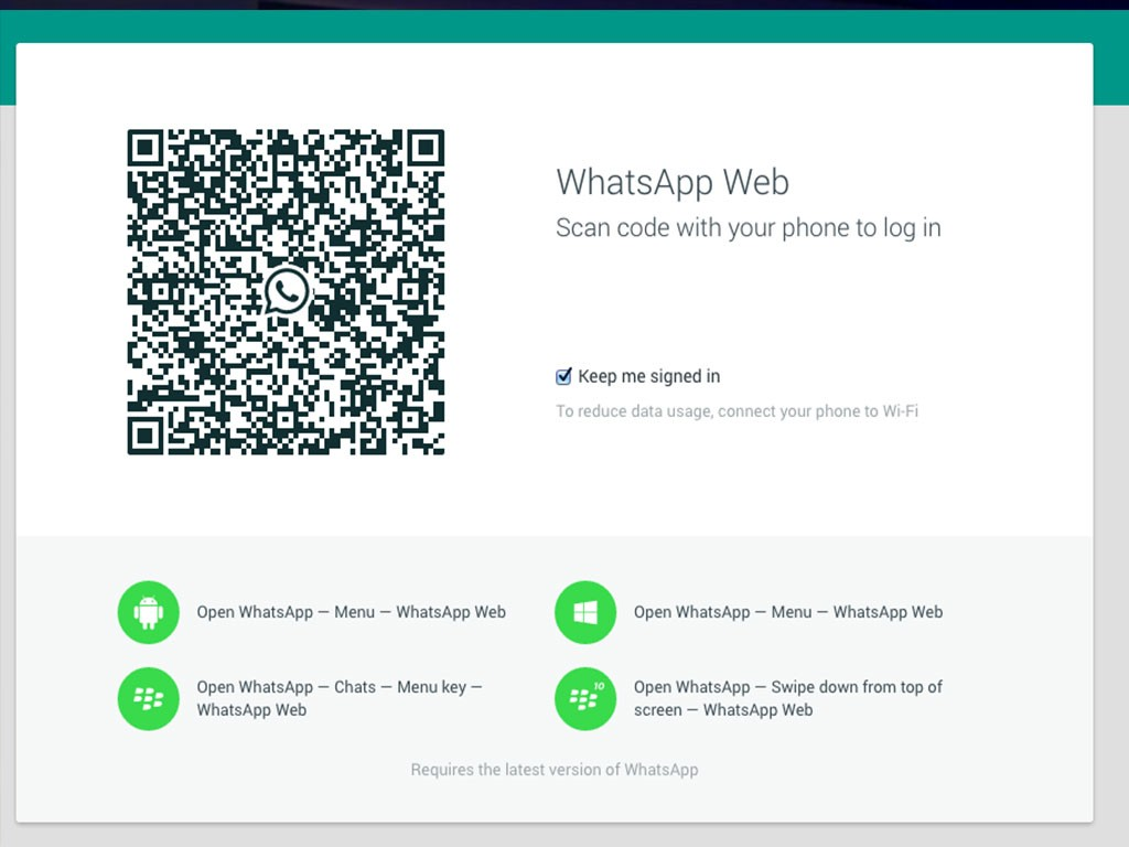 WhatsApp Web: WhatsApp presentó su versión de escritorio, aunque excluirá a usuarios Apple.
