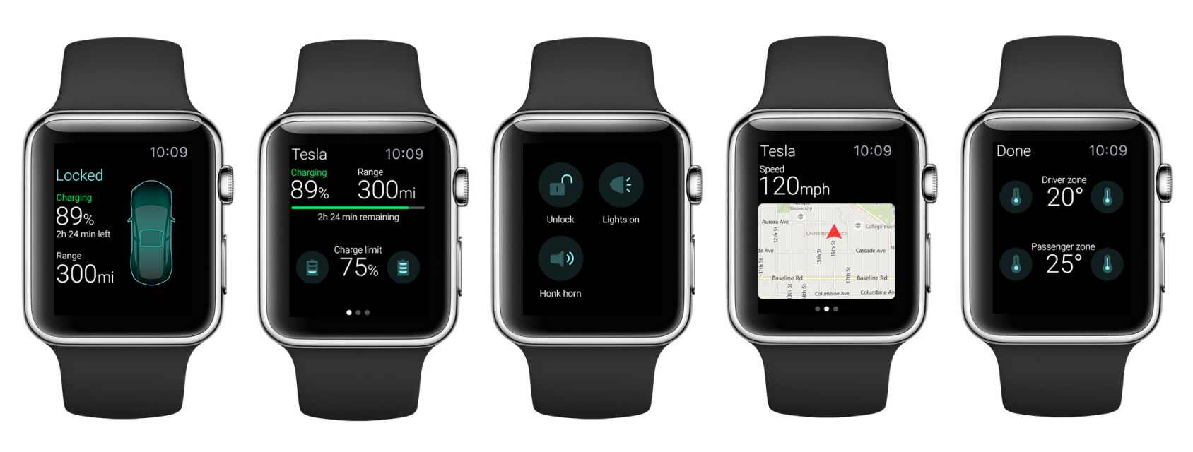 Con la App de Eleks Labs podrías saber la ubicación e incluso la temperatura del Tesla S.