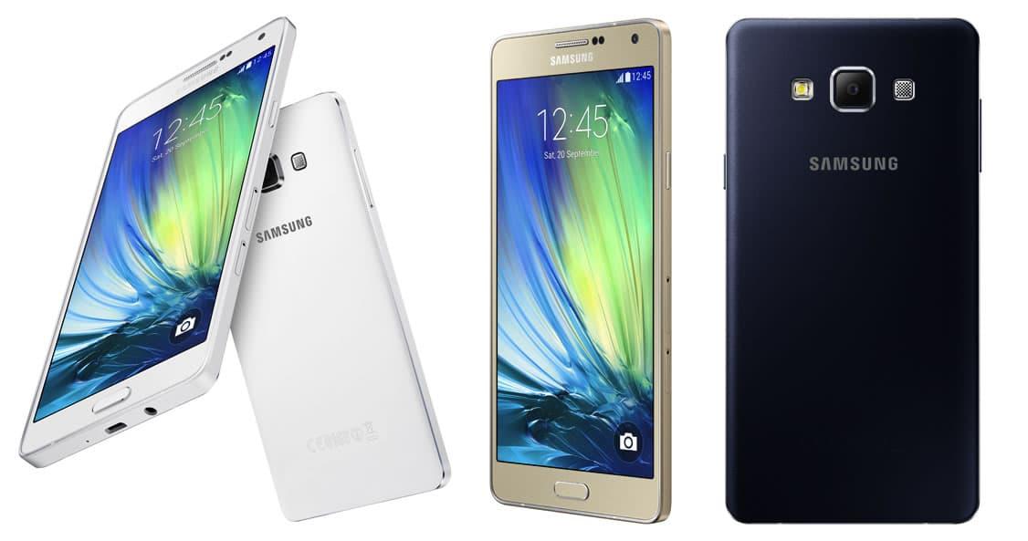 Samsung Galaxy A7.