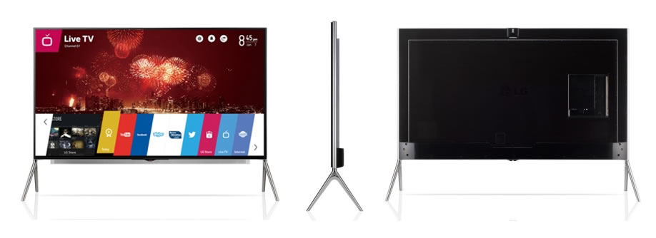Con 98 pulgadas, LG pretende entregar un equipo único para un sistema de entretenimiento tipo cine.