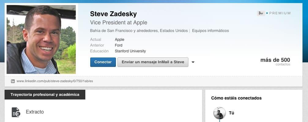 Steve Zadesky, un veterano en Apple, sería el cerebro tras Proyecto Titán.