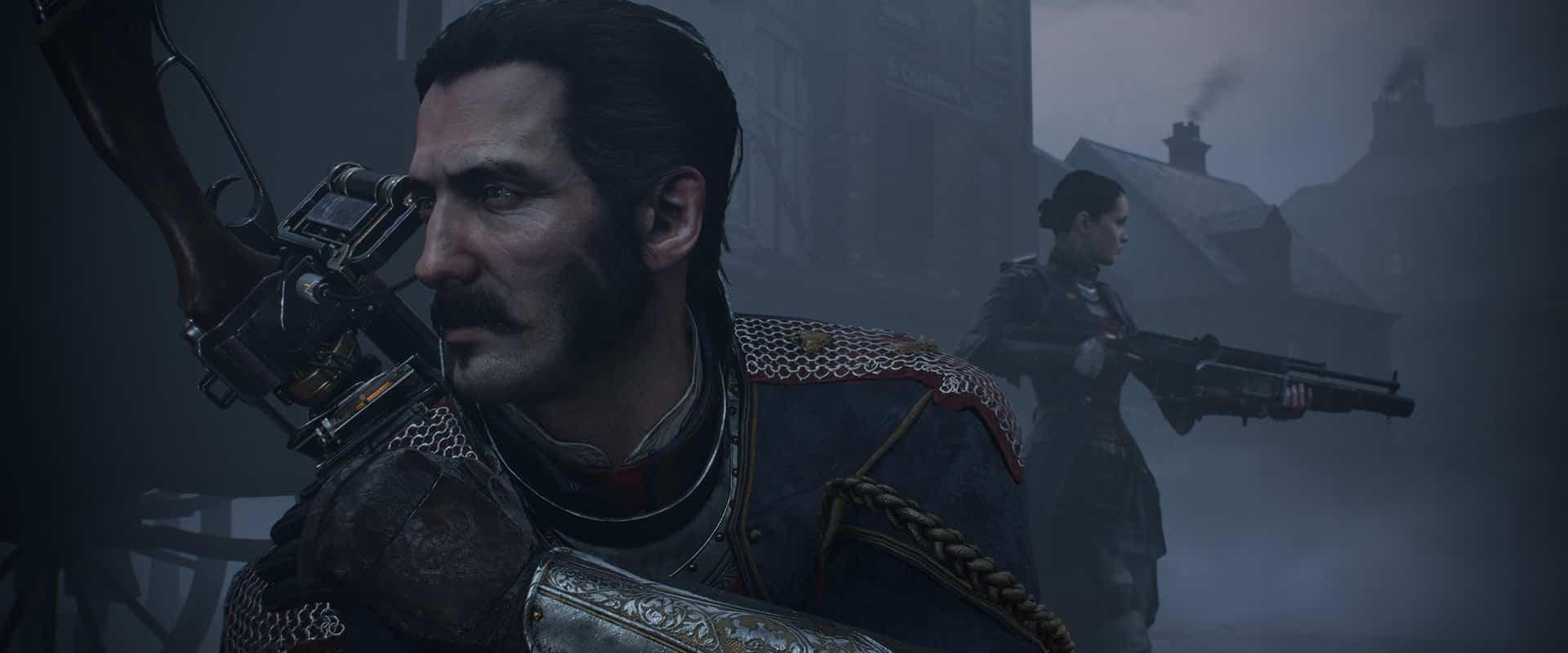 Sir Galahad, el personaje principal en The Order: 1886.