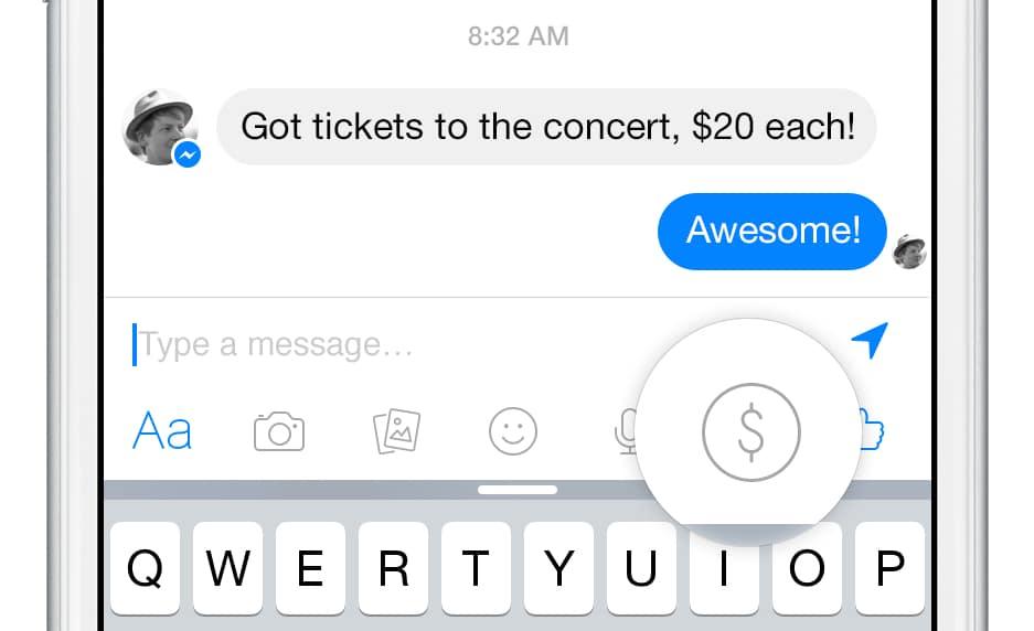 Facebook podría competir contra el Apple Pay, agregando esta función a Messenger.