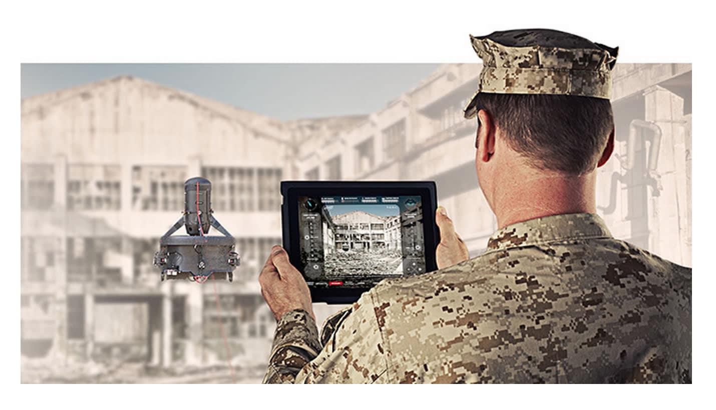 'Ease' es uno de los drones militares de CyPhy Works que se beneficiará con el dinero de Motorola.