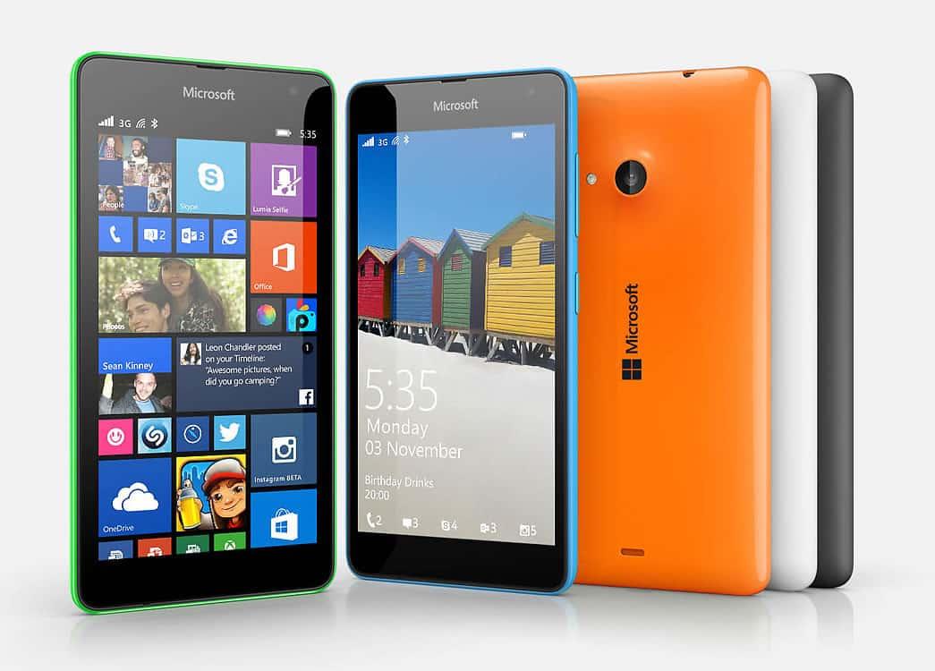 Microsoft Lumia 535.