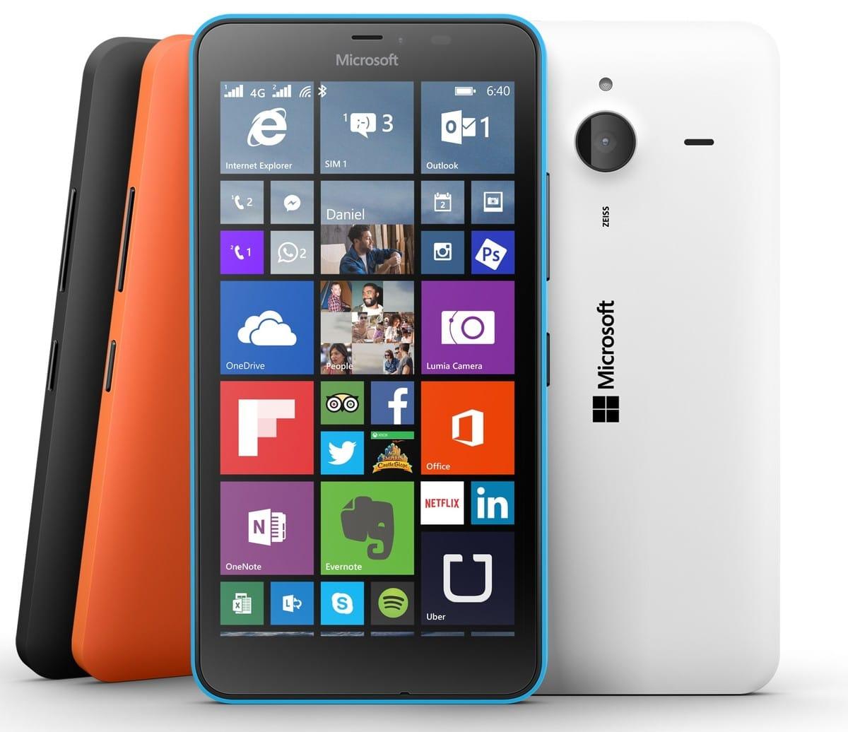 El Microsoft Lumia 640 XL comenzará a comercializarse aen marzo y el Lumia 640 en abril.