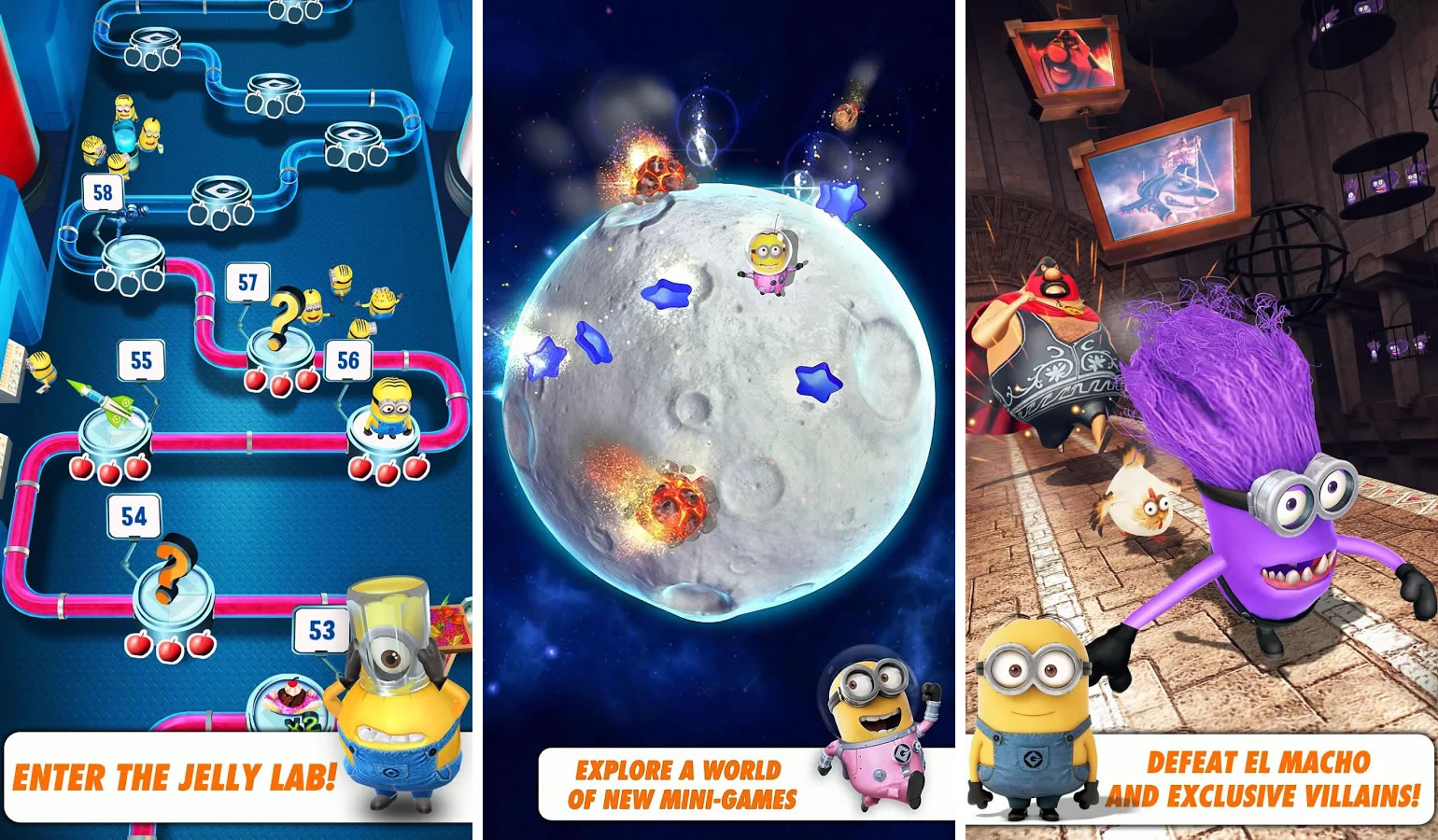 Mi Villano Favorito: Minion Rush.