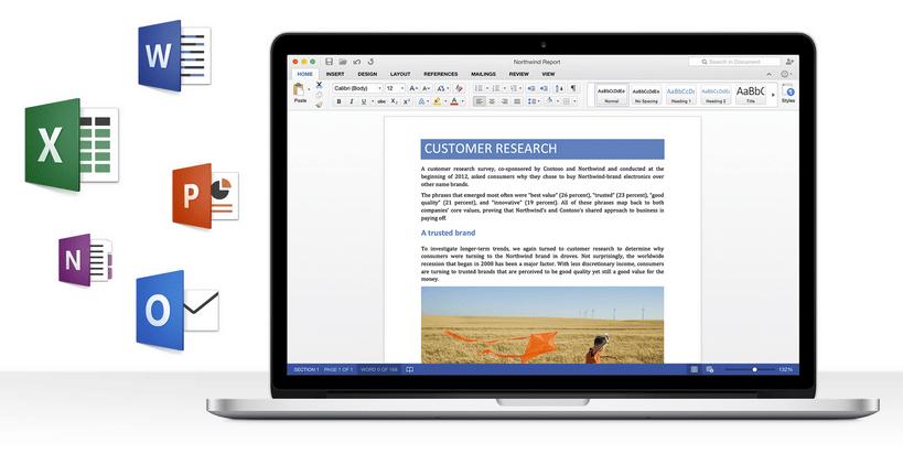 Microsoft lanzará en la segunda mitad del 2015 la nueva versión de Office para Mac.