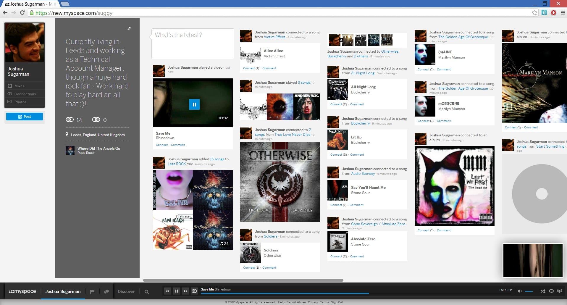 MySpace quería apostar todo a la música y comprar Spotify.