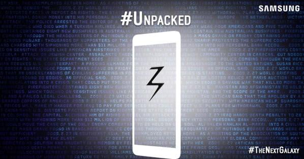 Galaxy S6 y S6 Edge serán las estrellas de este Unpacked.