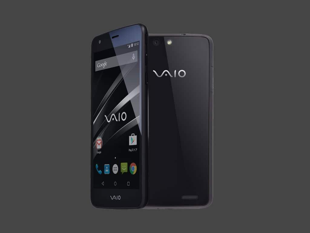 Vaio Phone es el primer modelo de la marca que vuelve a debutar.
