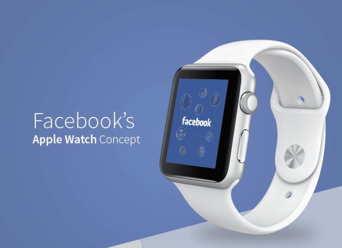 Facebook podría desarrollar aplicaciones para Apple Watch.