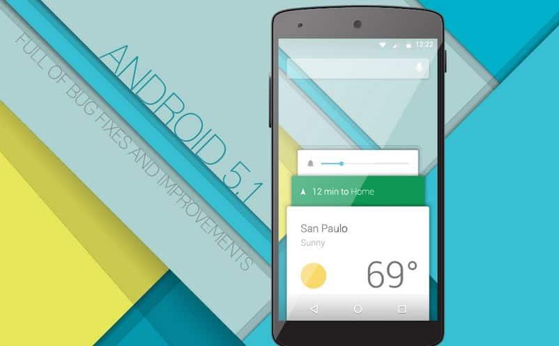 Solo equipos Nexus tendrán en una primera instancia Android 5.1 Lollipop.