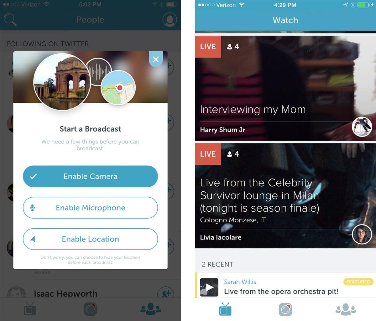 Twitter utilizará Periscope para transmitir y comentar videos en línea.
