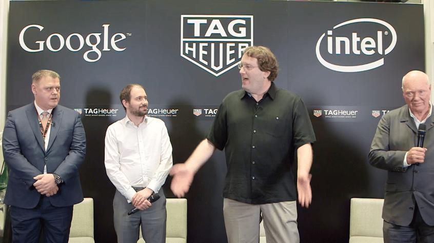 TAG Heuer anunció su alianza con Google e Intel para su primer reloj inteligente.