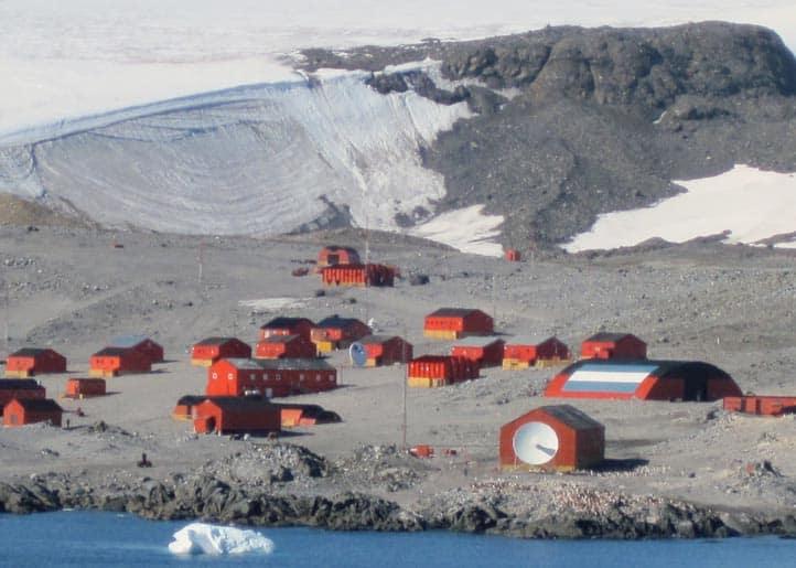 La base 'Esperanza' en la Antártida, ha sido lugar de los registros históricos de temperatura.